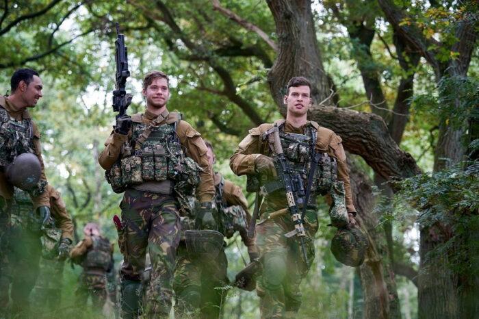 Тестирование полевого снаряжения в войсках