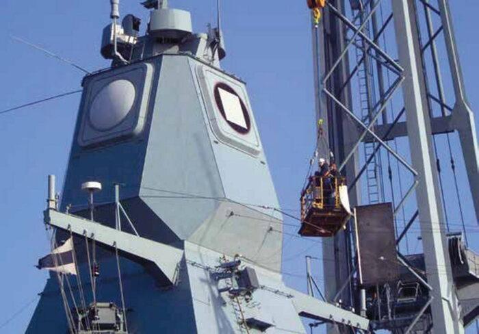РЛС с APAR фрегата F124