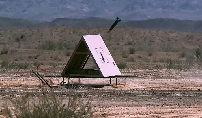 Второе тестовое попадание Excalibur S в движущуюся цель