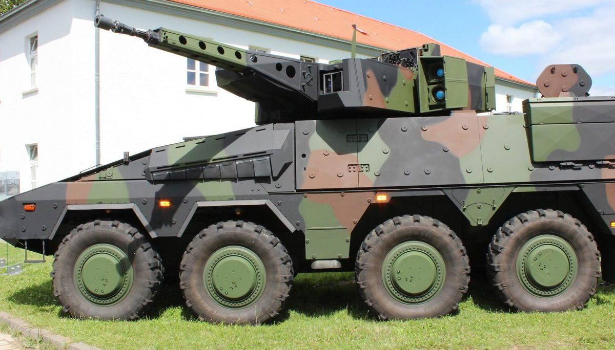 БТР «Боксер» – оружейная платформа перспективной дивизии бундесвера