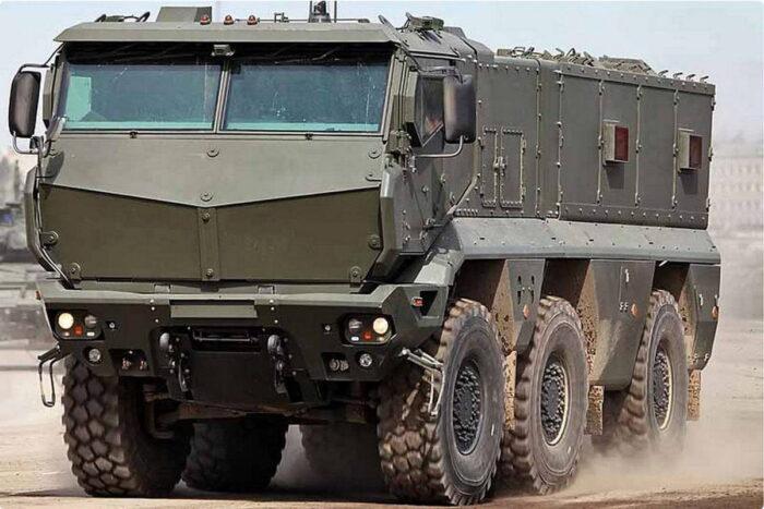 Бронеавтомобиль «Тайфун-К» передадут разведчикам 41 армии
