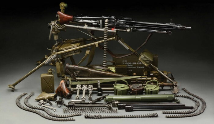 Современный пулемет MG3