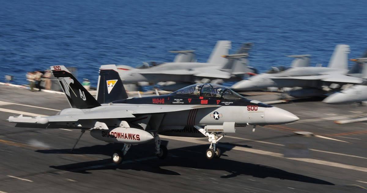 EA-18G Growler ВМС США раскрывает новые боевые свойства