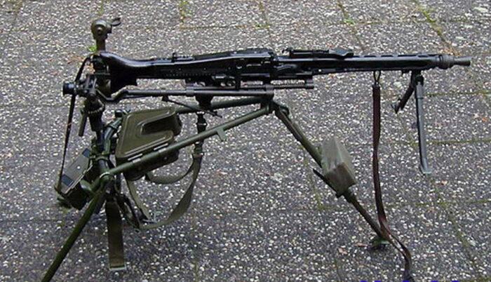 Современные пулеметы бундесвера – модель MG3 на лафете
