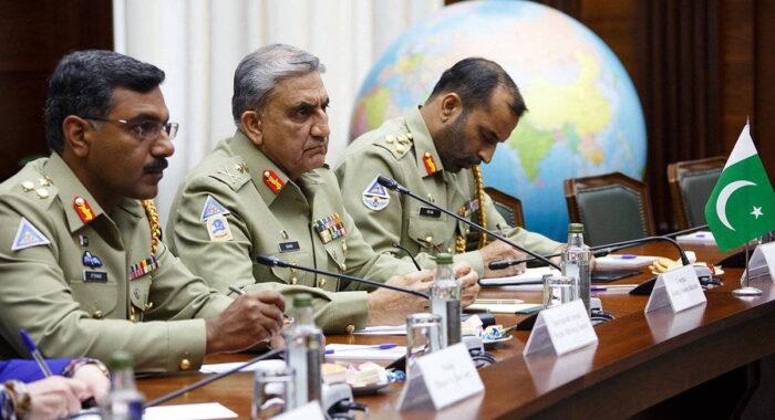 Председатель ОКНШ ВС ИР Пакистан генерал Зубайр ХАЯТ на встрече в Москве
