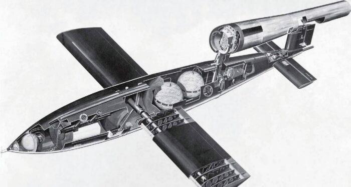 Простая конструкция позволяла разобрать снаряд для транспортировки