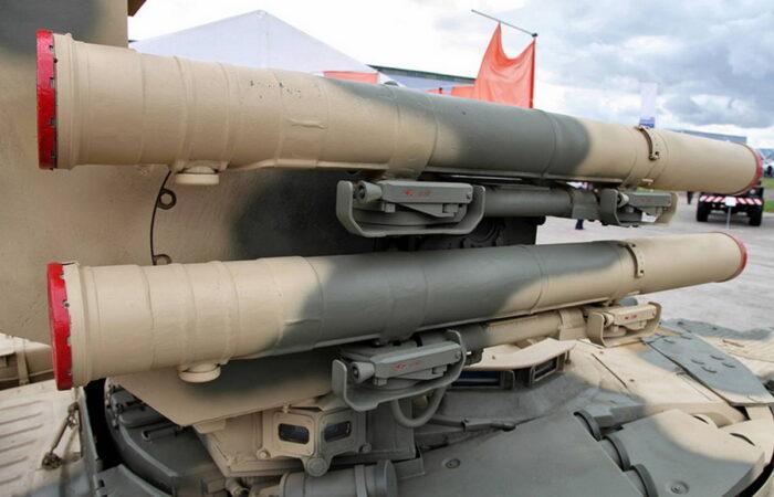 """Противотанковая ракета """"Атака-Т"""" с дальностью до 6 000 м"""