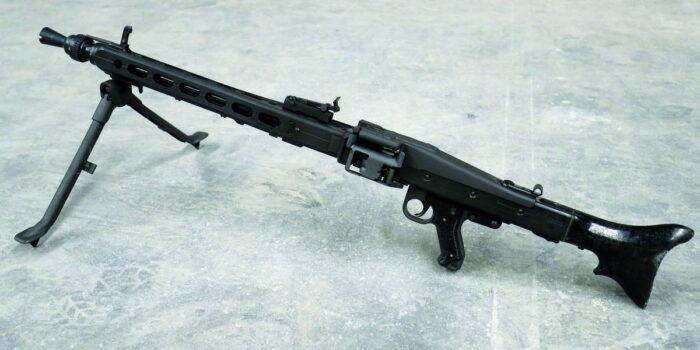 Пулемет MG3A0A1 на сошке