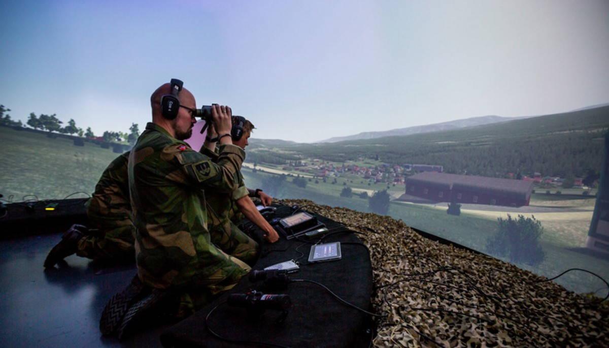 Норвежский боевой симулятор авиационных наводчиков
