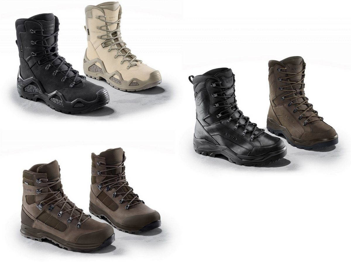 Тактические ботинки от Lowa – коллекция 2020