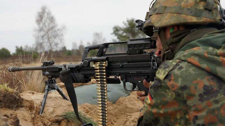 Современные пулеметы бундесвера – MG4