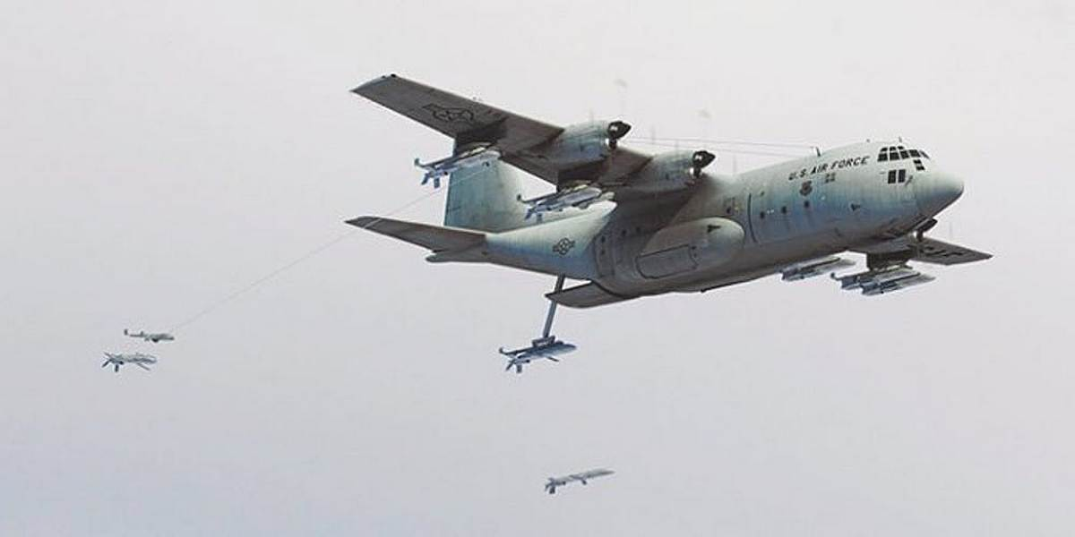 X-61A Gremlin и концепция «воздушного авианосца»