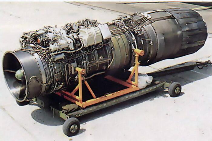 Российский авиационный двигатель РД-93