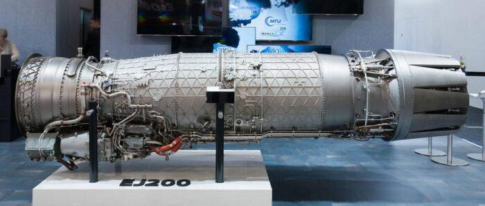 Европейский авиационный двигатель EJ-200