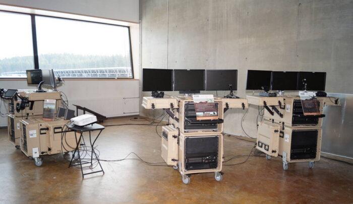 Оборудование мобильного учебного комплекта с 3-метровым куполом