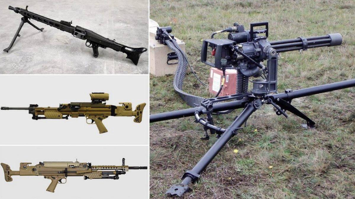 Современные пулеметы бундесвера – MG5 и MG6