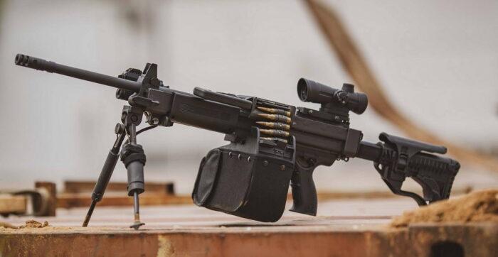 ВС Индии закупают сверхлегкий 7,62мм пулемет Negev