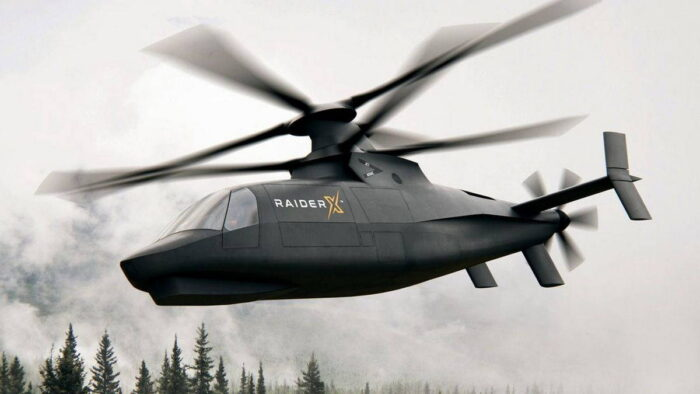 Модель Raider X корпорации Sikorsky Aircraft Corp.