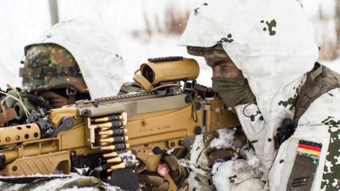 Оптический прицел пулемета MG5