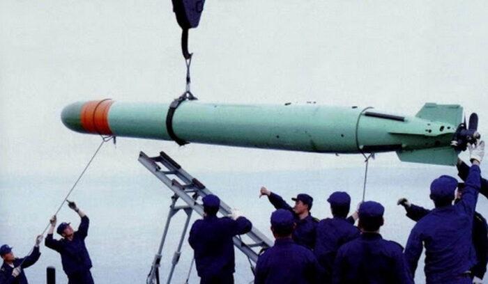 """Торпеда """"Рыба-3"""" ВМС Китая"""