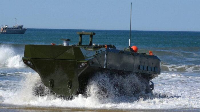 Десантная машина-амфибия ACV КМП США