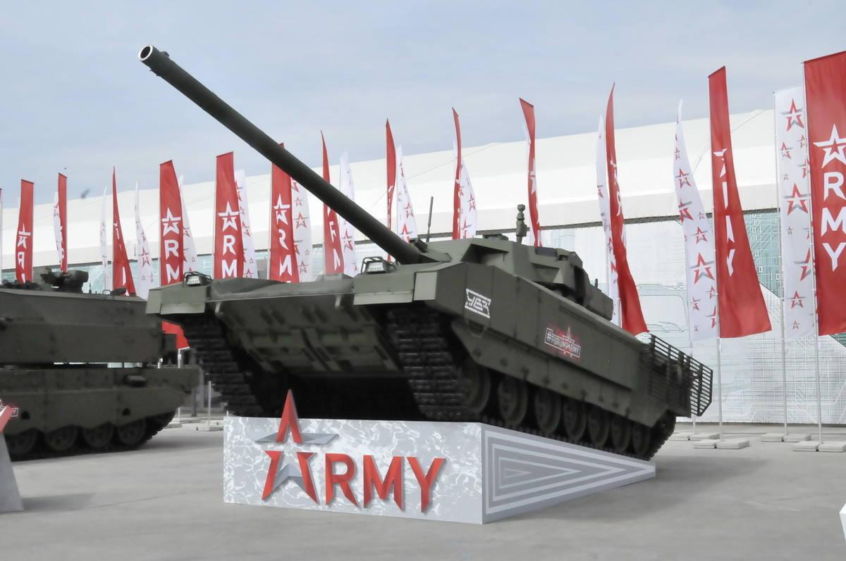 Российский танк Т-14 протестирован в Сирии