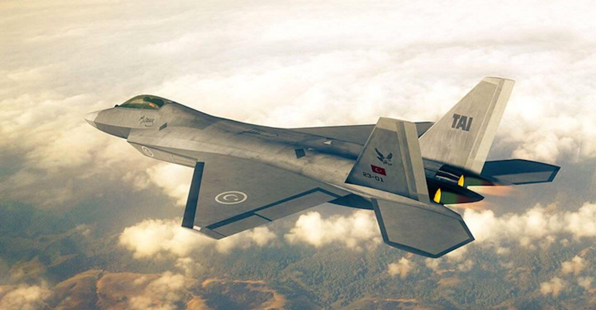 ВВС Турции — программа истребителя пятого поколения