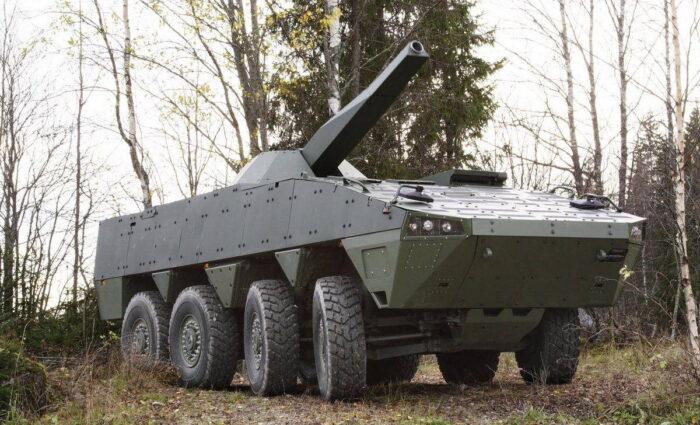 120 мм миномет Patria Nemo тестируется для армии США