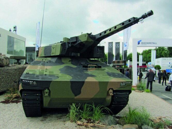 БМП Lynx KF на выставке Eurosatory 2016