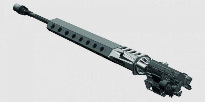 Новая АП Wotan 35: калибр 35х228 мм