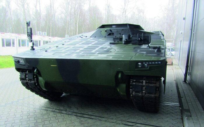 Вариант машины боевого управления семейства Lynx