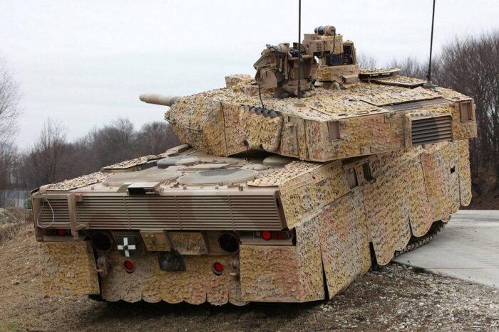 """ОБТ """"Леопард 2 А7"""" бундесвера"""