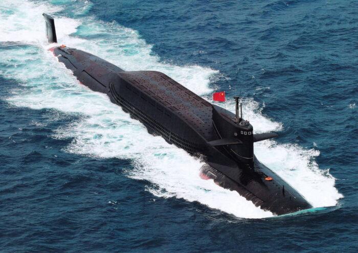 ПЛАРБ 094 ВМС Китая