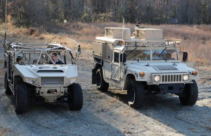 Командование армии США мобильный КП
