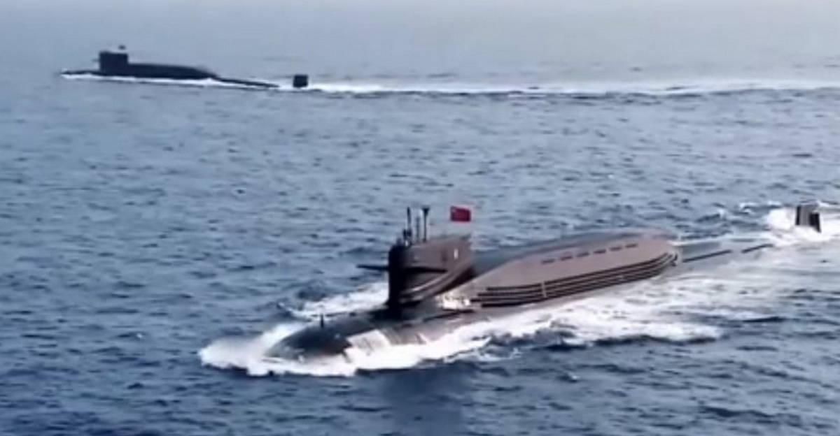 Две ПЛАРБ пополнили состав ВМС Китая