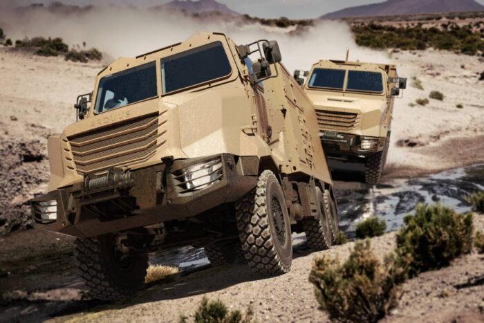 Презентация тактического автомобиля ARMIS