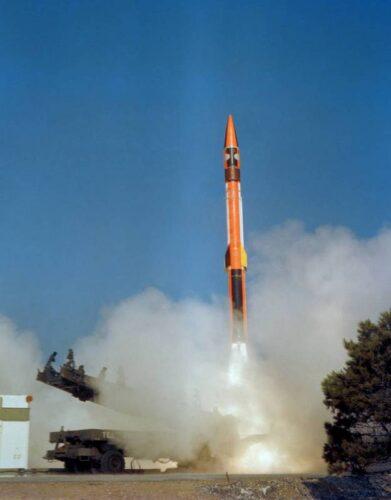 Испытательный пуск ракеты MD-620