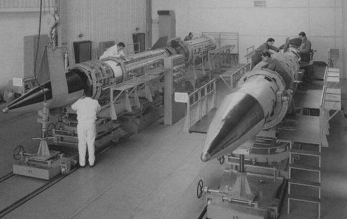 «Иерихон-1» в цеху
