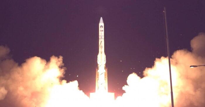 Старт ракеты-носителя «Шавит»