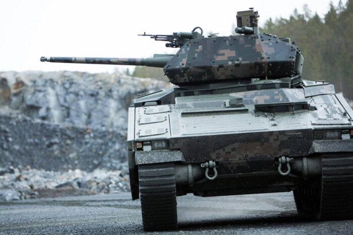 Предложенная на конкурс OMFV  BAE Systems БМП CV90MkIV
