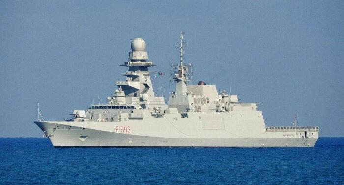 Фрегат типа FREMM ВМС Италии