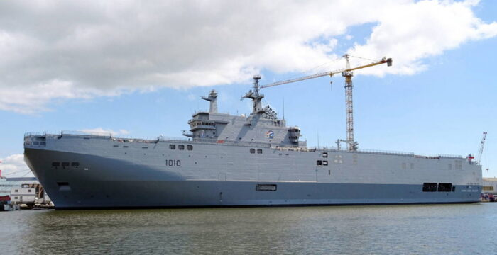 """УДК """"Гамаль Абдель Насер"""" (L1010) ВМС Египта"""