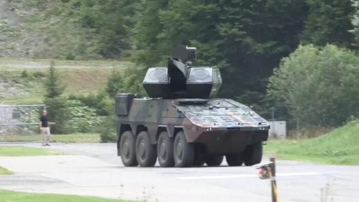 """БТР """"Боксер"""" как база для войсковой ПВО"""