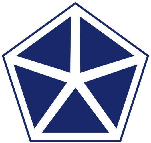 Эмблема 5-го корпуса армии США