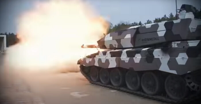 Испытана 130 мм танковая пушка