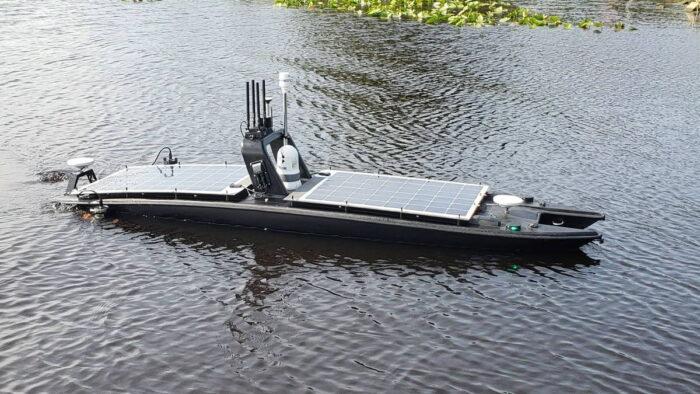 Необитаемый морской надводный аппарат Mantas от Martac