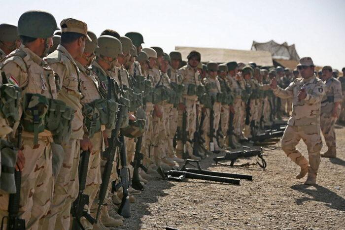 Курдская пешмерга в составе антиигиловской коалиции