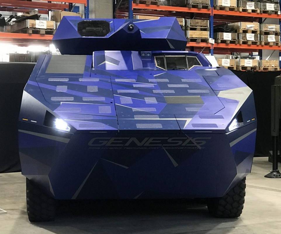 Боевая машина Genesis