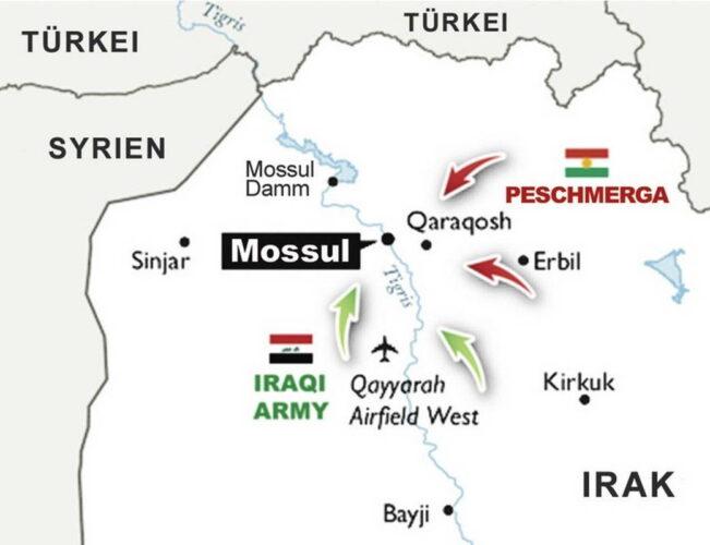 Наступление на Мосул в 2016 г.