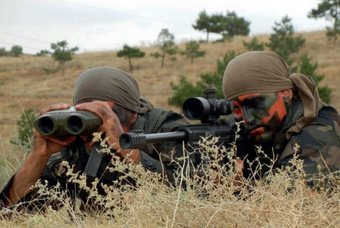 БСОП Турции использует специализированное оборудование в отдаленных горных районах против террористических организаций
